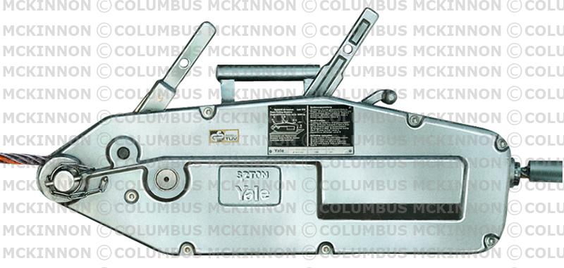 W Ultra Ręczne wciągarki linowe - COLUMBUS MCKINNON YI32